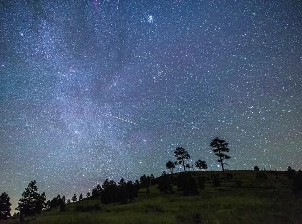 Москвичи увидят сотню падающих звезд в час на выходных