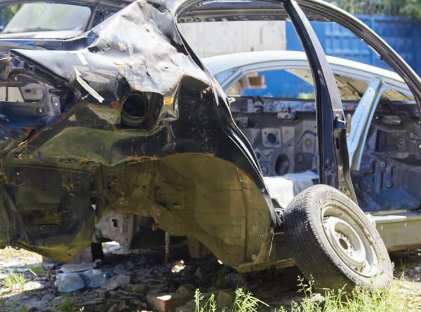 В Армении выросло количество «кладбищ машин»
