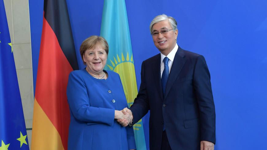 Меркель и Токаев обсудили сотрудничество в экономике