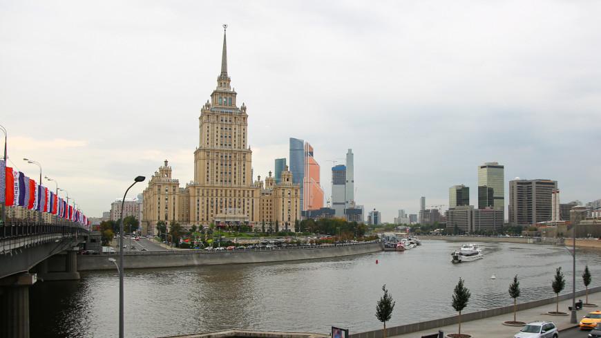москва, город, улицы, архитектура, гостиница украина, Radisson Collection Hotel, гостиница, отель, сталинская высотка, кутузовский проспект, москва река,