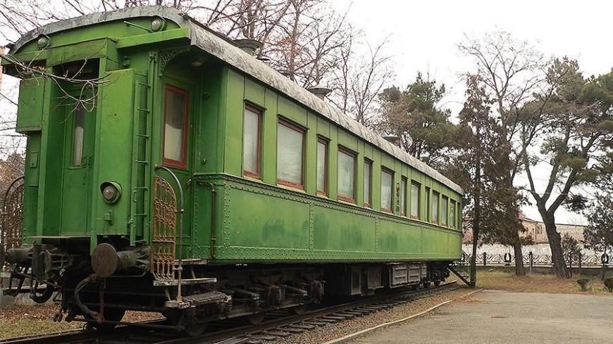 Личный вагон Сталина в Грузии получил статус памятника культурного наследия