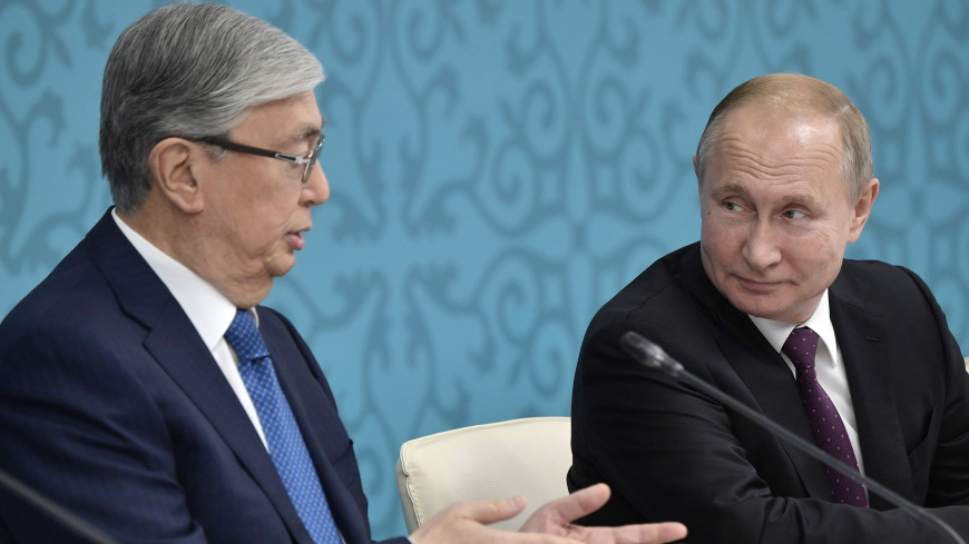 Токаев пригласил Путина посетить Казахстан