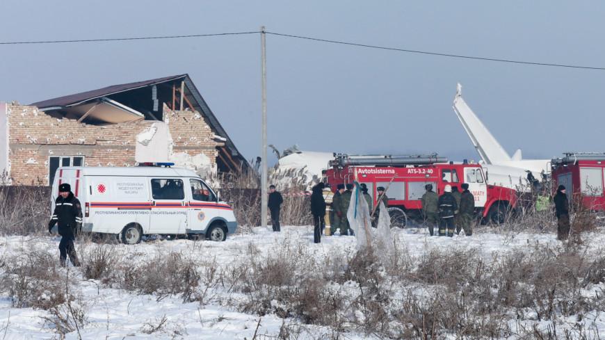 В Казахстане похоронили погибших в авиакатастрофе журналистку и генерала