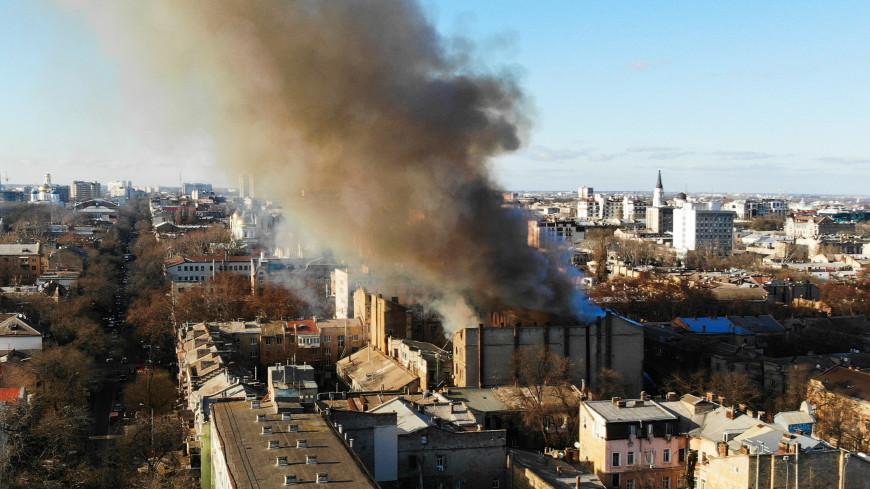Количество жертв при пожаре в Одессе увеличилось до 12