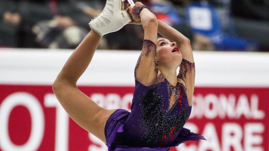 Фигуристка Косторная установила новый мировой рекорд