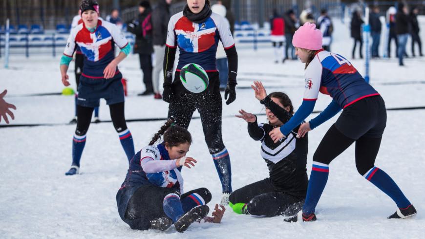Фестиваль снежного регби