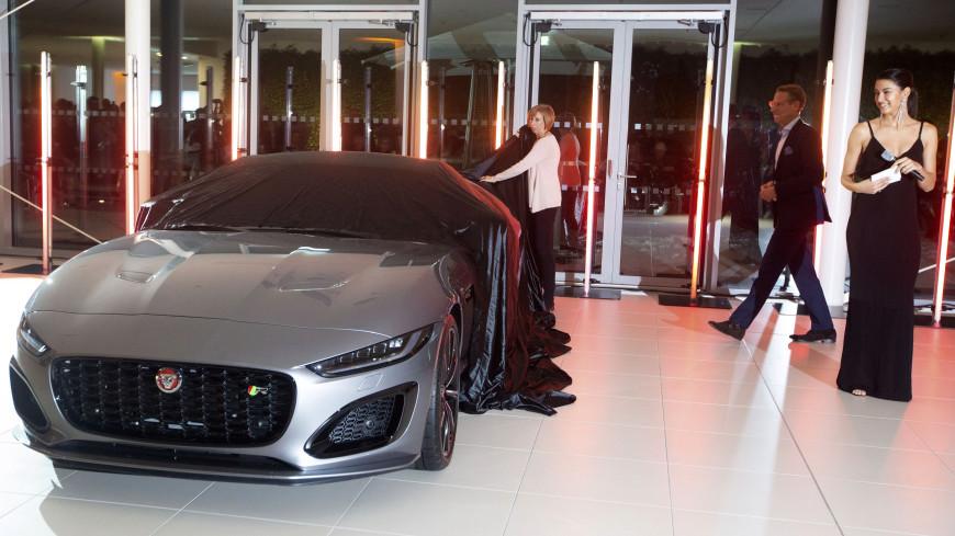 Jaguar показал обновленный спортивный автомобиль F-Type