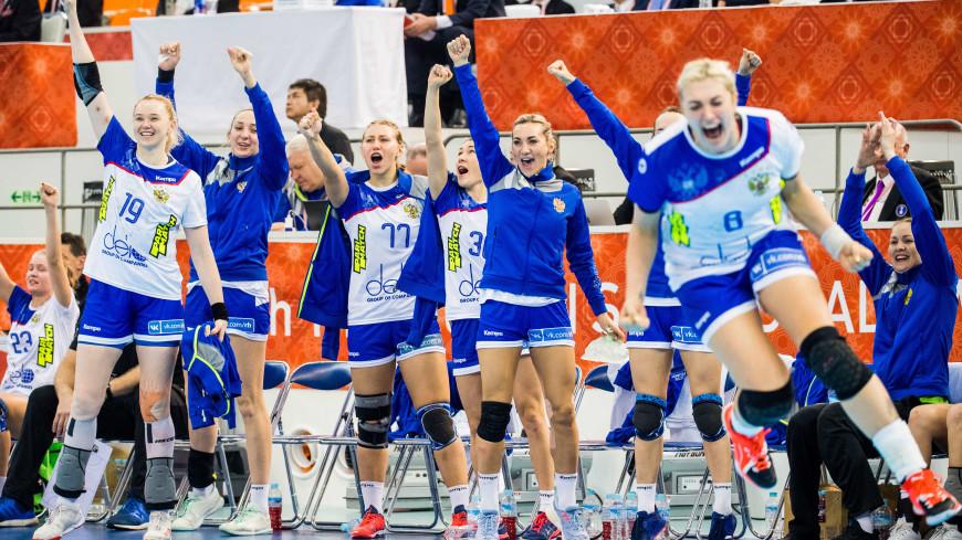 Российские гандболистки вышли в полуфинал ЧМ, одержав сразу восемь побед
