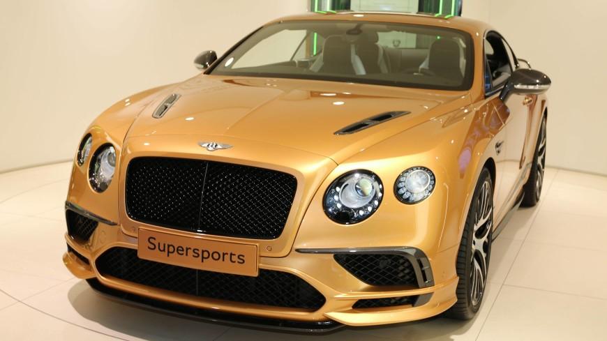 Bentley отзывает семь автомобилей в России