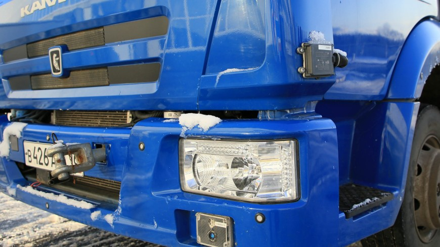 КамАЗ начал тестирование беспилотного грузовика «Одиссей»
