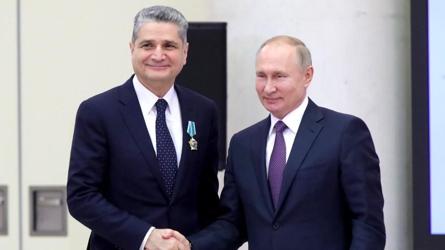 Путин вручил орден Дружбы председателю коллегии ЕЭК Тиграну Саркисяну