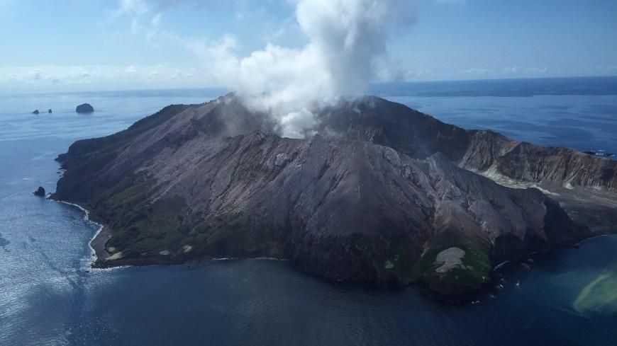Число жертв извержения вулкана Уайт-Айленд увеличилось до 16 человек