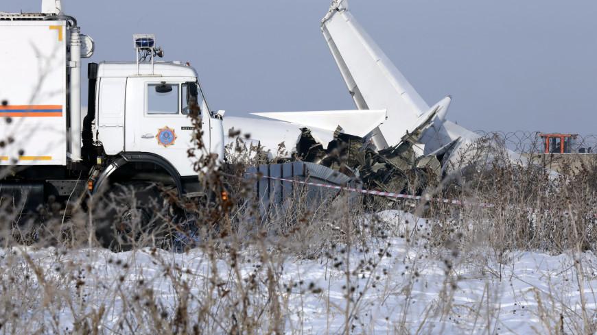 Авиакатастрофа под Алматы: 46 человек остаются в больницах