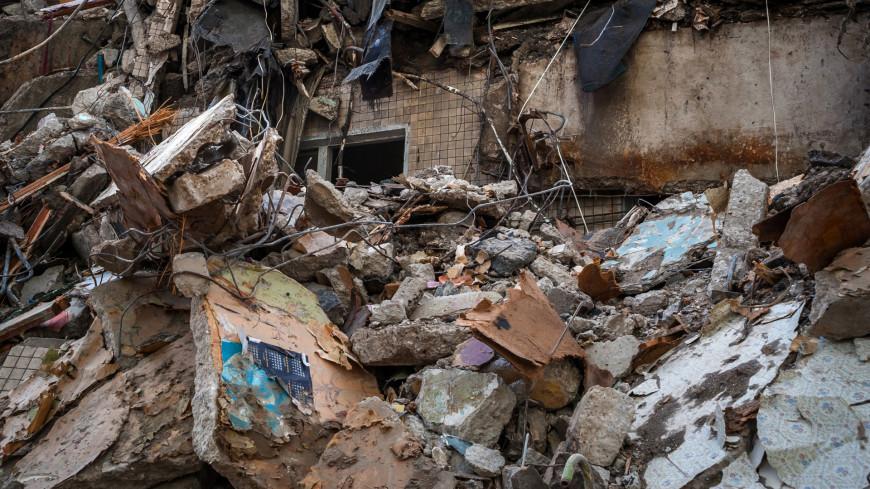 Под завалами дома в Белгородской области нашли тело мужчины
