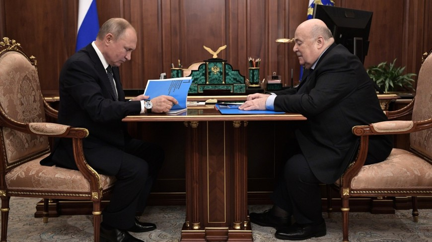 Путин подвел итоги Года театра с Калягиным