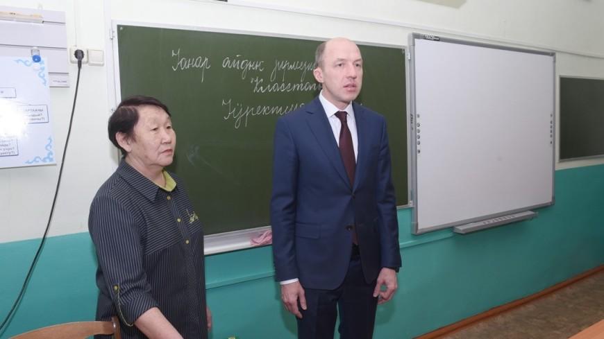 Глава Алтая посетил национальную школу, о которой рассказали Путину