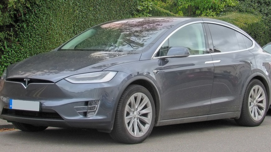 Tesla Model X заслужил высшую оценку в краш-тесте