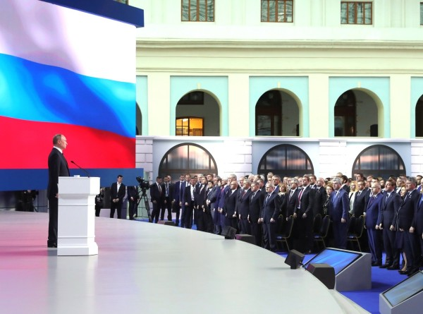 15-е послание Владимира Путина Федеральному собранию. Видеоверсия