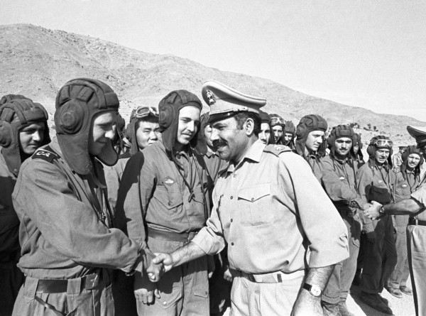 Как советские солдаты покидали Афганистан (ФОТО)