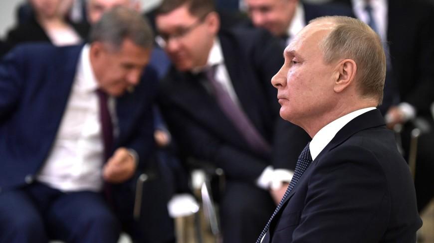 Дольщики, ипотека и хоккей: о чем Путин говорил в Казани