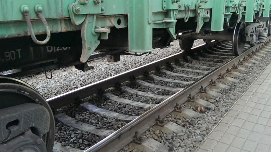 """Фото: Елизавета Шагалова, """"«МИР 24»"""":http://mir24.tv/, поезд, товарный поезд"""