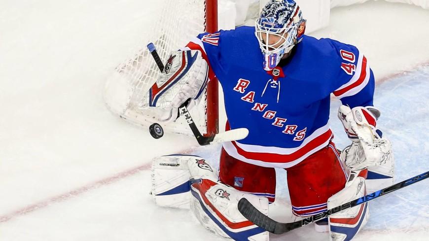 Российский хоккейный вратарь вошел в историю клуба «Нью-Йорк Рейнджерс»