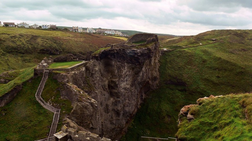 В замке Тинтагель вновь построят мост короля Артура