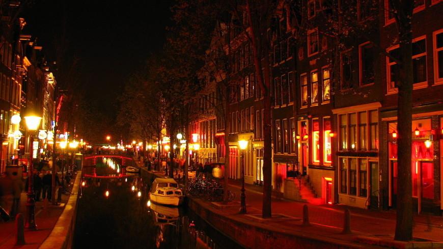 Знаменитый квартал Красных фонарей в Амстердаме реорганизуют