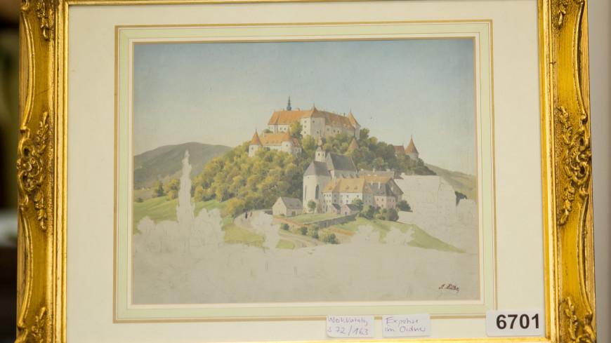 В Нюрнберге не нашлось покупателей для картин кисти Адольфа Гитлера