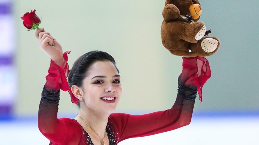 Фигуристка Медведева победила в финале Кубка России, Туктамышева – вторая