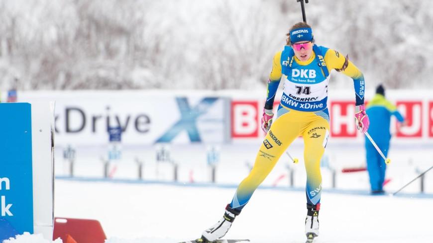 Индивидуальную гонку по биатлону на ЧЕ-2019 выиграла шведка