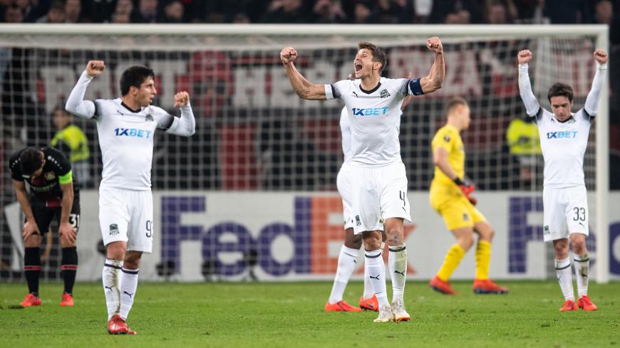 «Краснодар» сыграл вничью с «Байером» и пробился в 1/8 финала Лиги Европы