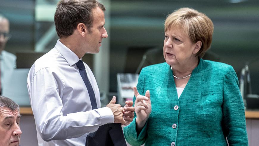 Еврораздор: Макрон отказался выступать с Меркель в Мюнхене