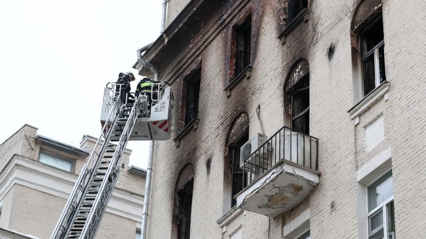 Башмет пожаловался на здоровье после пожара в доме на Никитском бульваре