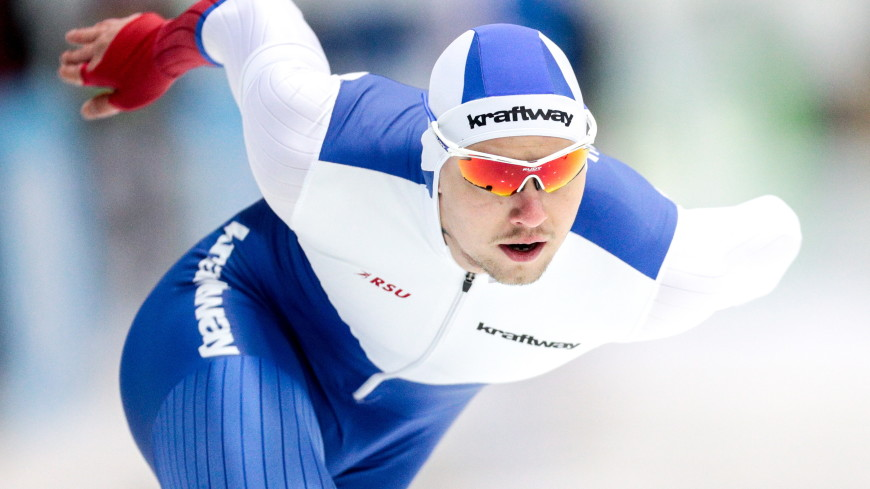 Конькобежец Павел Кулижников установил новый мировой рекорд