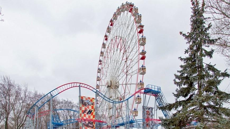 Фото: Максим Кулачков (МТРК «Мир») «Мир 24», колесо обозрения, ввц, вднх, снос колеса обозрения