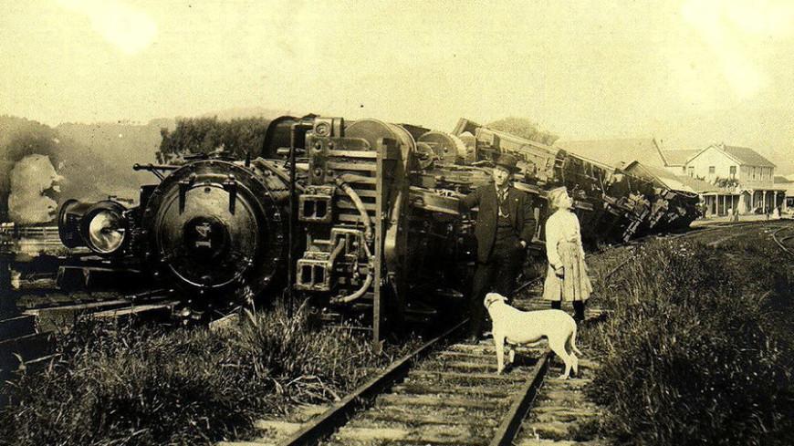Силу землетрясения 1906 года определили по архивному фото