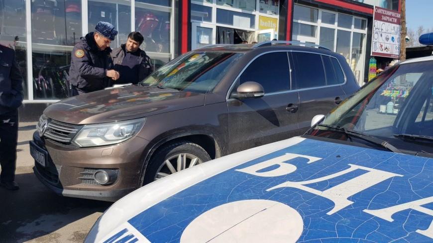 В Душанбе наводят порядок на парковках