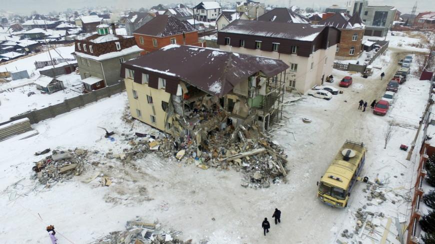 Взорвавшийся в Красноярске дом был самостроем