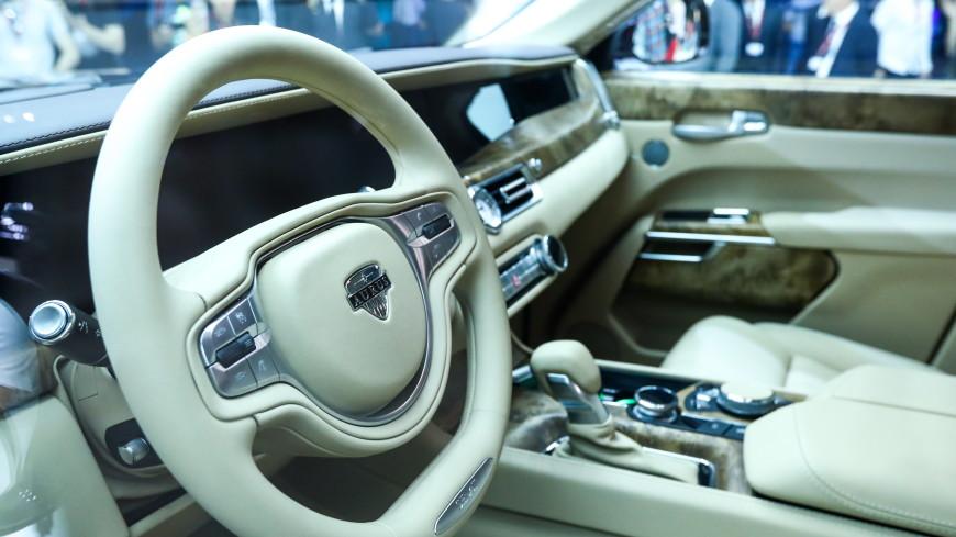Российский лимузин Aurus покажут в Абу-Даби