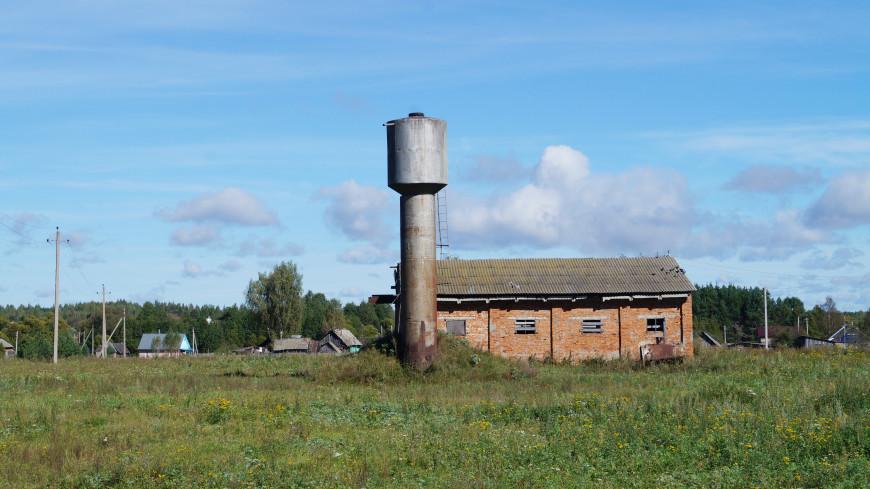 Житель Брянской области распилил водонапорную башню и сдал ее на металлолом