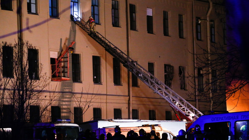 В здании ИТМО в центре Петербурга обрушились все этажи