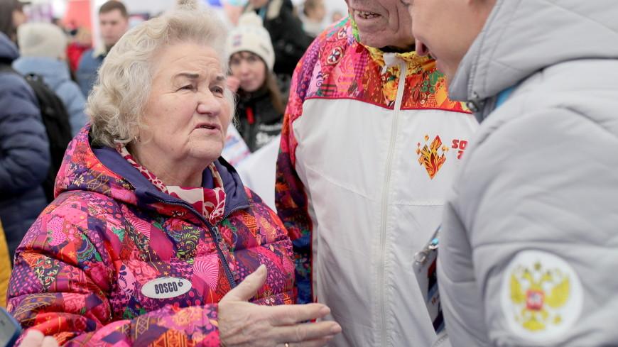 Легендарная Лидия Скобликова посетила соревнования на Красной площади