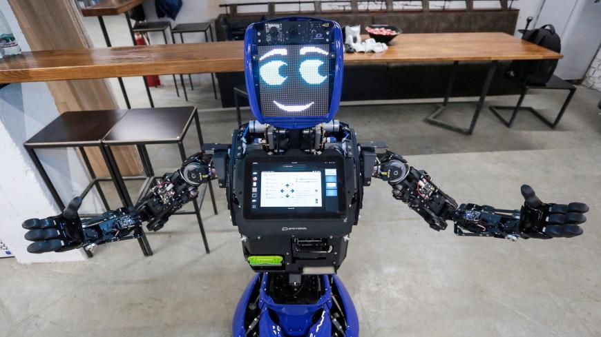 В России создали человекоподобного робота-консультанта