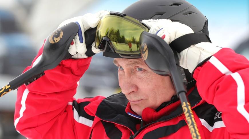 Путин не исключил, что сменит лыжи на сноуборд