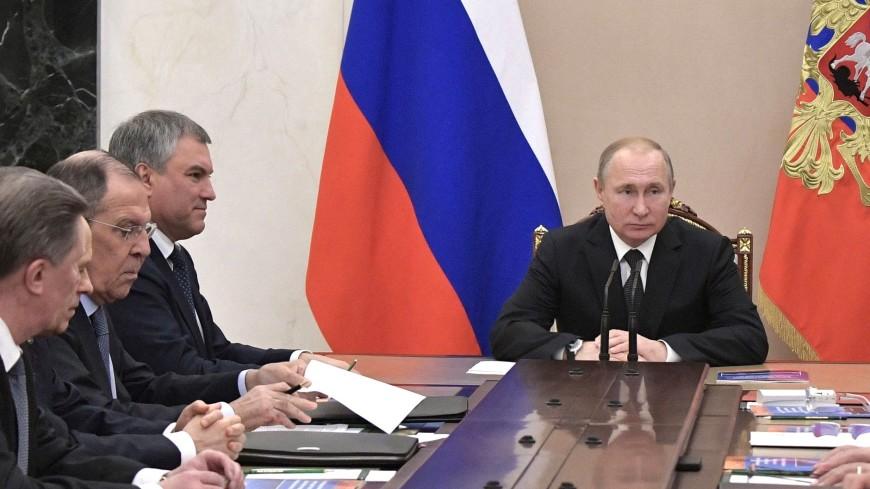 Путин обсудил с членами Совбеза РФ ситуацию в Венесуэле