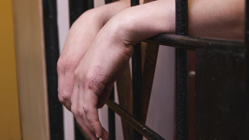 """Фото: Марина Грекова, """"«Мир 24»"""":http://mir24.tv/, дело, наручники, тюрьма, суд, задержание, преступник, подсудимый, арест"""