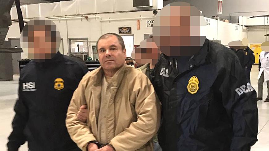 Суд США признал Эль Чапо виновным в наркоторговле