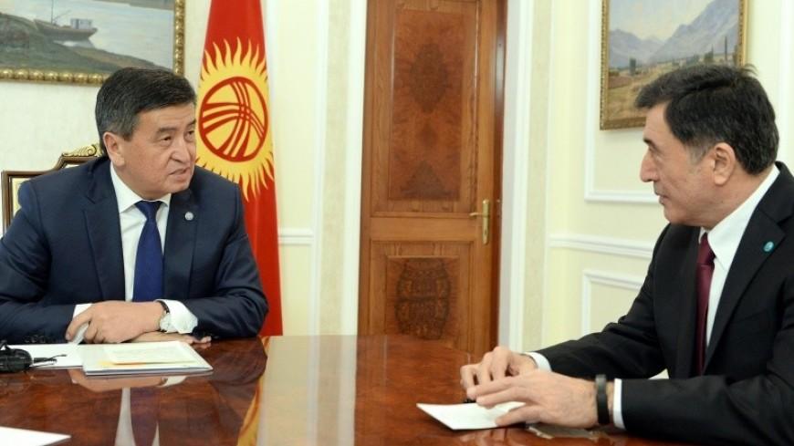 Жээнбеков пообещал провести саммит ШОС в Бишкеке на высоком уровне