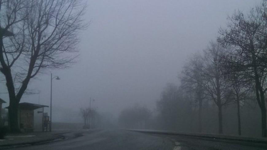 "© Фото: ""Елизавета Шагалова, «Мир 24»"":http://mir24.tv/, плохая видимость, туман, туман на дороге, дорога, дорога в тумане"